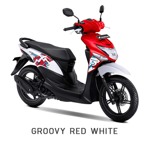 BeAT POP eSP GROOVY RED WHITE