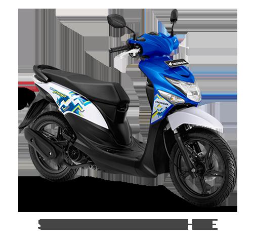 BeAT POP eSP SYMPHONY BLUE WHITE