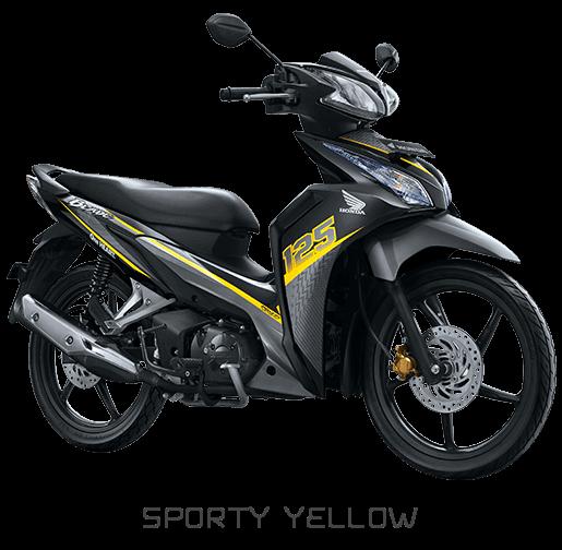 Blade 125 FI Sporty Yellow